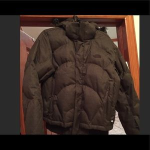 The North Face Brown 600 Goose Down Hooded Jacket